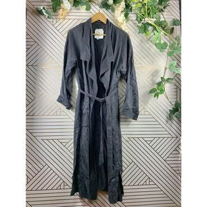 Hei Hei Trapunto Trench Coat Jacket Duster size s
